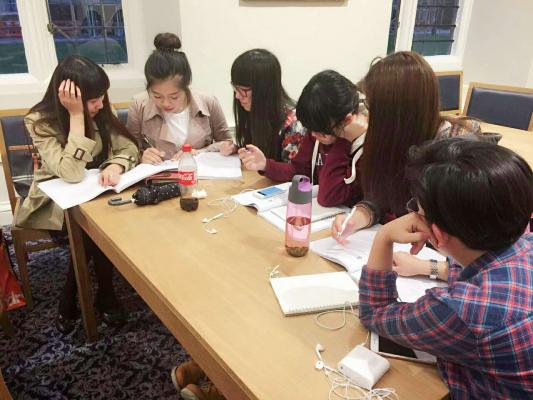 Group work is incorporated into the academic programme