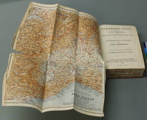 E.M. Forster Baedecker guide