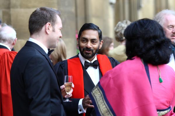 Fellows at a feast