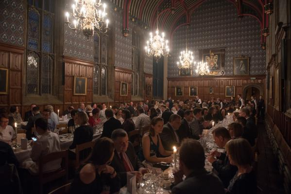 The Dining Hall is perfect for large dining events, catering for up to 144 people