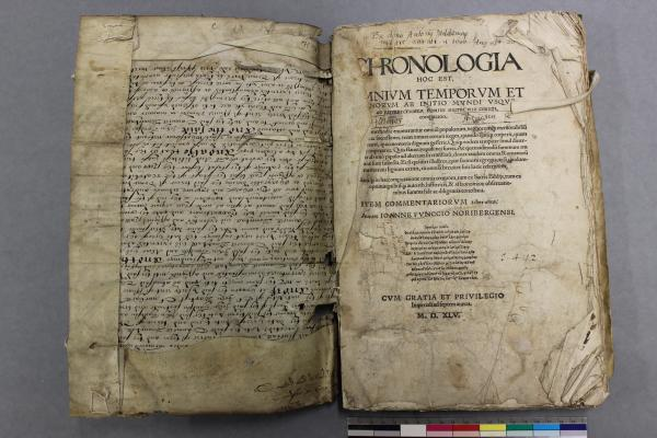 Re-used parchment