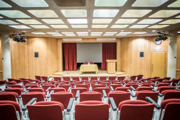 Our 150 seat lecture theatre is available for presentations, talks and workshops