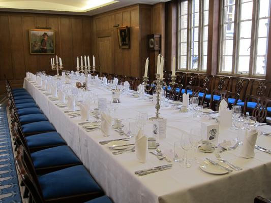 A traditional college room, ideal for special occasions or meetings