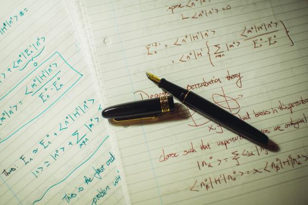 Preparing for a quantum mechanics supervision (photo credit: Singyuan Zhao)