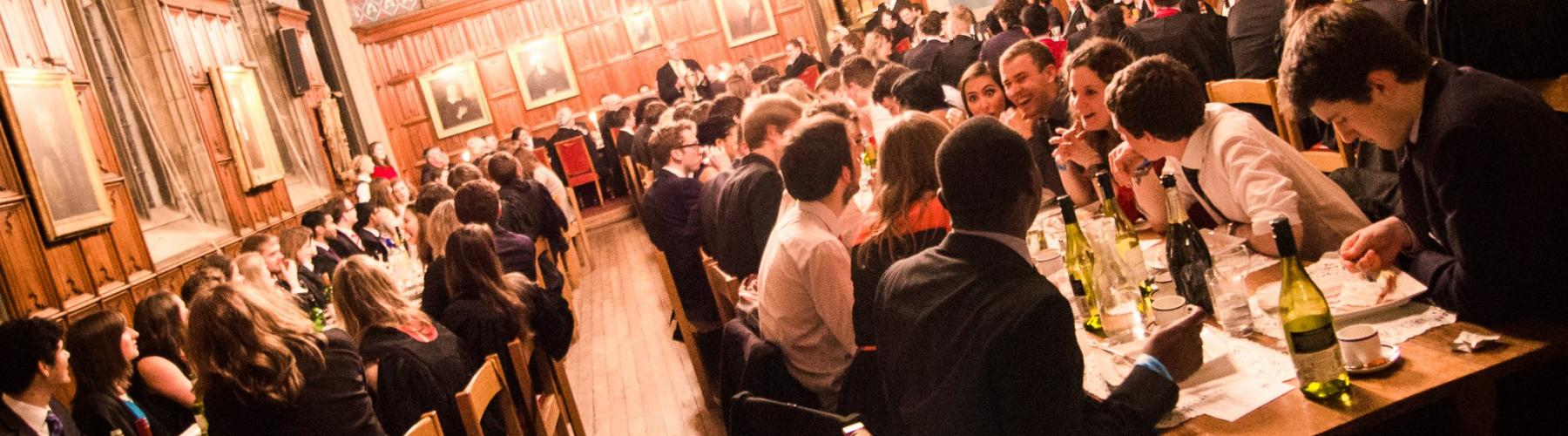 Formal dinner in the Hall