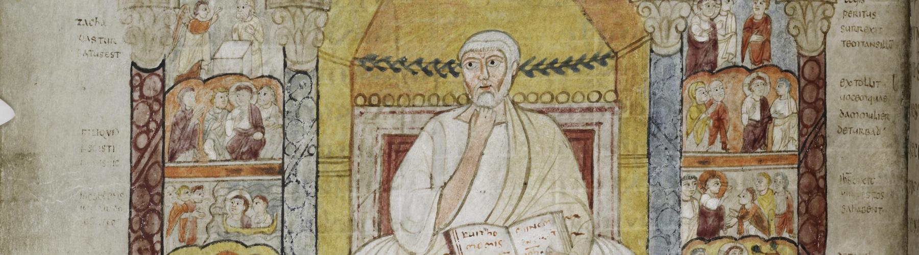 MS 286, the evangelist Luke